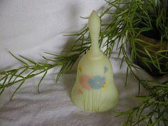 Vintage Fenton yellow Milk Glass Bell.  via Etsy.