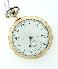 Vintage Elgin Large Pocket Watch by WhitesVintage on Etsy