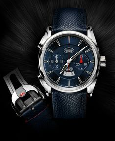 Parmigiani Bugatti Aerolithe Flyback Chronograph Watch Remembers The Flammable Legend   watch releases