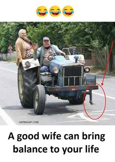 Funny Joke About Wife vs. Life
