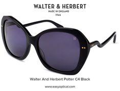 Walter and Herbert Potter England, Sunglasses, Green, Black, Black People, Sunnies, Shades, English, British
