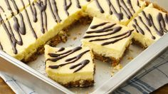 Feeling conflicted about dessert? With these simple bars, there's no need to choose between cookies and cheesecake.