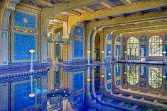 The Neptune Pool at Hearst Castle, California