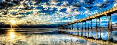 Another beauty... Photo by Matt Aden Photography... Scripps Pier in La jolla, CA