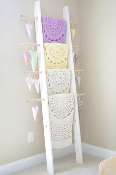 Doily crochet rugs from Henna's Boutique