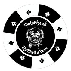 Royal Flush!  Cash in those chips. #motorhead #Live to Win