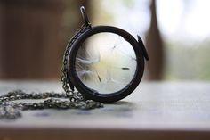 Dandelion Wisp Necklace