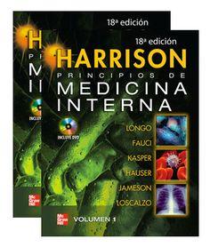 Principios de medicina interna / editores, Dan L. Longo... [et al.]  Edición 18ª ed. México, [etc.] : McGraw-Hill, cop. 2012 2 v. : il. ; 28 cm + 1 disco (DVD)