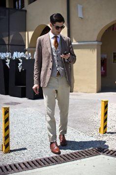 Pitti Uomo - Street Style