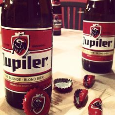 Jupiler- great label and great beer