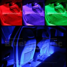 LED Interior 15-Color Glow Light Kit