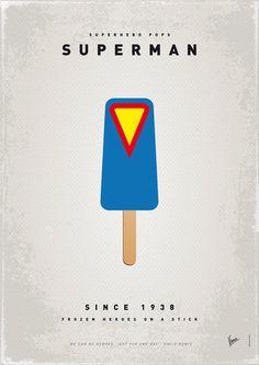 My Superhero Ice Pop: Superman