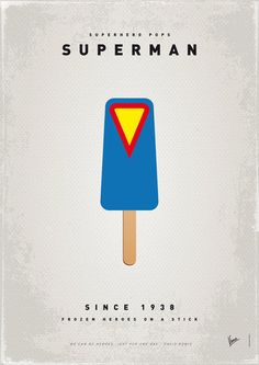 My Superhero Ice Pop: Superman