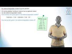 De wetenschappelijke notatie bij grote getallen - WiskundeAcademie - YouTube