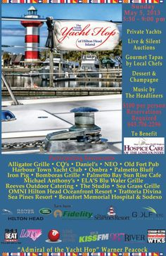 Yacht Hop in Harbour Town, Sea Pines