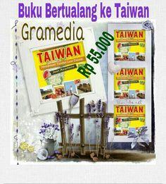 1 Minggu lagi ↖(^ω^)↗  #Buku  #Bertualang_ke_Taiwan  #Terbitan #Gramedia  #Rilis #20 #Oktober #2014  Rp 55.000  192 Halaman