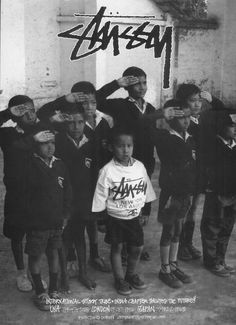 International Stussy Tribe.. India Chapter Salues The Future!! 1992