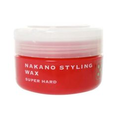 Nakano Styling Wax Series has seven line-ups and Nakano Styling Wax 5is the third strongest hold among its seven line-ups.Nakano wax is widely popular in Japan, offeringthree brands with 29 kinds of waxes. It also has UV protection and moisturizing effect.  Producer: Nakano Country of manufacturing: Japan Weight: 90g Hold: Super hard