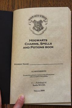 My Harry Potter Party: The Hogwarts Charms, Spells and Potions Book