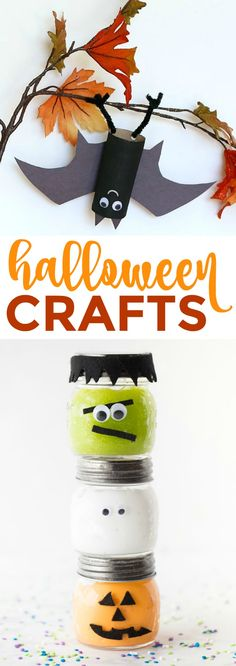 These cute Halloween crafts are perfect to make and so easy to  follow, plus you only need a few craft supplies to get started! #halloween  #happyhalloween #trickortreat #halloweenparty  #halloweenfun #crafts #craftideas #DIY #halloweenDIY #halloweencraft #projects #diycrafts #diyprojects #fundiys #funprojects  #diyideas #craftprojects #diyprojectidea