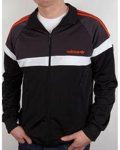 Adidas Originals Itasca Track Top Black/shadow/orange,jacket,tracksuit