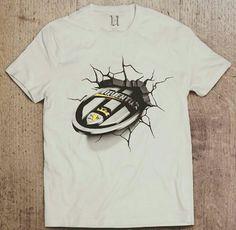T-Shirt Juventus 3D
