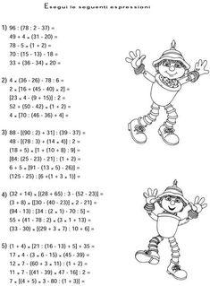 MATEMATICA :: Maestro-Cris 4th Grade Math, Kindergarten Math, Teaching Math, Picture Comprehension, Senses Preschool, Math Magic, Printable Math Worksheets, Math Formulas, Teacher Supplies