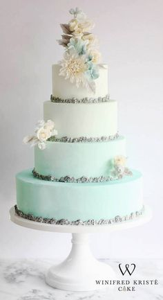 Wedding Cake Ideas from Winifred Kriste Cake - MODwedding