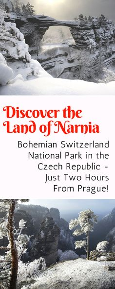Discover the Land of Narnia - Visit Narnia in the Czech Republic. You can explore the stunning Bohemian Switzerland National Park, where scenes from the film were shot, on a day trip from Prague!