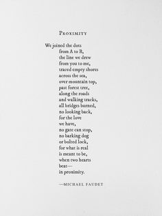 Finding Love Quotes Future Husband michael faudet love michael faudet Source: website people noticing letting Source: website pin eri. First Love Poem, Love Poem For Her, Deep Love Poems, Finding Love Quotes, Love Quotes For Him, Love Poems And Quotes, Happy Poems, Lang Leav, You Poem