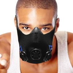 Resistance Training Mask for Sport Workouts Fitness Running Sports Crossfit . for sale online