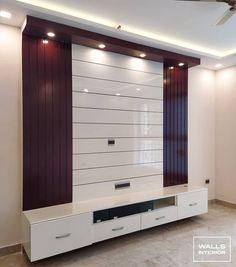Tv Unit Furniture Design, Tv Unit Interior Design, Wardrobe Interior Design, Bedroom Furniture Design, Lcd Wall Design, Bed Frame Design, Modern Tv Unit Designs, Modern Tv Wall Units, Living Room Wall Designs