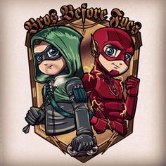 Arrow and Flash by Lord Mesa