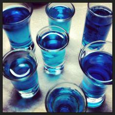 Jolly Rancher Vodka Shots... yeaa buddy.. that's what Im talkin' about :))
