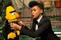 "Let's Watch A Preview of Janelle Monáe Being Amazing On ""Sesame ..."