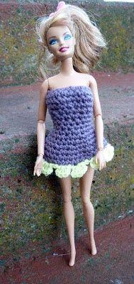 Mamma That Makes: Free Crochet Pattern - Barbie Flowie Dress