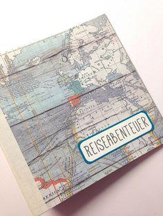 reise erinnerungsbuch // reisetagebuch von ja-sagerin auf DaWanda.com                                                                                                                                                                                 Mehr