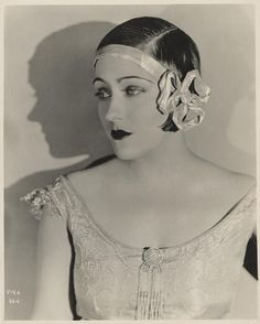 Gloria Swanson portrait from 'Her Gilded Cage' by Donald Biddle Keys, 1922.