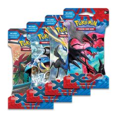Pokémon Trading Card Game: XY expansion is dawn of Mega Evolution. This sleeved booster pack contains 10 additional Pokémon TCG cards.