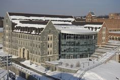 Rafik B. Catholic University, Georgetown University, Alma Mater, Louvre, Building, Winter, Travel, Winter Time, Viajes