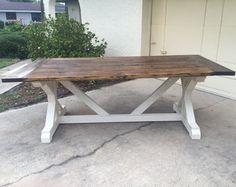 rustic farmhouse entryway table. от ModernRefinement на Etsy