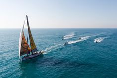 December 13, 2014. The Abu Dhabi Arrivals; Abu Dhabi Ocean Racing approach Abu Dhabi in a clear 3rd place. Ainhoa Sanchez/Volvo Ocean Race