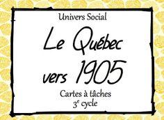 Les idées de Mme Roxane!: Cartes à tâches French Resources, Cycle, Social Studies, Back To School, Teacher, Success, Classroom, Education, Learning