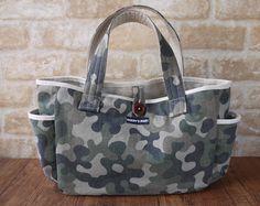お散歩バッグ、グッズ、ダックスフンド服、犬服の通販ショップ Hardy's mart web shop Denim Bag, Handmade Bags, Country Girls, Purse Wallet, Camouflage, Printing On Fabric, Purses And Bags, Diaper Bag, Sewing Projects