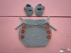 Nuevo kit!!! Conjunto de cubrepañal y patucos de big algodón. Imagínate a tu bebé luciéndolo este verano!!!