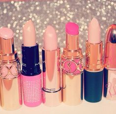 Oh, those shades of pink! :) adore ysl lipsticks theyre so smooth