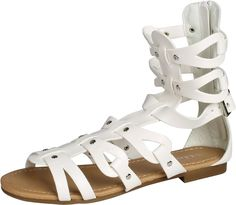 Link Girls Atta-01K Gladiator Sandals -- Stop everything and read more details here! : Girls sandals