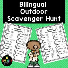 Dual Language Classroom, Bilingual Classroom, Spanish Classroom, Elementary Spanish, Pre K Activities, Spanish Activities, Language Activities, Spanish Worksheets, English Language Learners