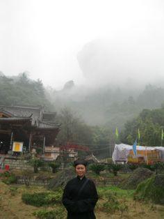 A Taoist priestess in the Wyushan Mountains, China. Visit Sanbao tours with Wenying Li: www.chinaclayart.com