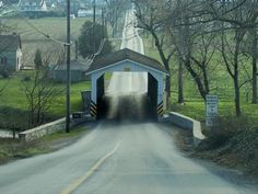 Travel the world through Webshots photos-covered bridge in Lancaster Co., Pa